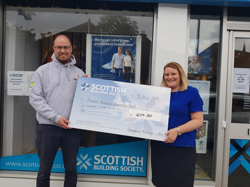 Members and staff of the Scottish Building Society